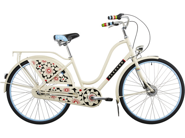 Electra Amsterdam Fashion 3i Damer, bloom cream